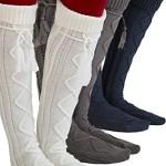 Tie Boot Socks Women's Tall Alpine Boutique Socks Brand by Modern Boho