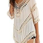 Dora Bridal® Womens Sexy Crochet Hollow Out Cover-ups Beachwear Swimwear Dress