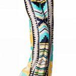 Palazzo Fashion Women's Tribal Aztec Print Yoga Pants
