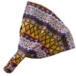 Diamond Aztec Soft Wide Headband Boho Head Wrap (Motique Accessories)