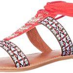 Qupid Women's Athena-905A Flat Sandal