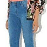 Bolayu Vintage Retro Floral Loose Shawl Kimono Boho Chiffon Cardigan Blouse