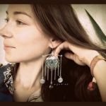 Unique Indian Mandala Design Earring by aproize