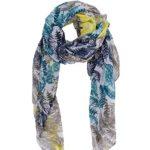 WM BEAUTY Feather Pattern Colorful Soft Beautiful Design Fashion Scarf