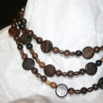 Boho-Style Wood Beads: View 1