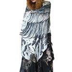 Shovava Women's Wings Scarf 30% Silk 70% Cashmere