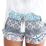 Franterd Women Short Pants – Summer Casual Shorts – High Waist Hot Pants