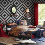 Josie by Natori Hollywood Boho Comforter Mini Set, Multicolor, King