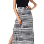Costyleen Women's Sleeveless Bohemian Beach Tank Top Casual Maxi Long Dress