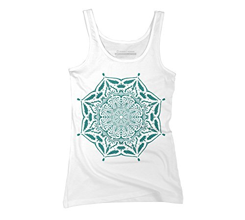 Design By Humans Mandala Kings' rest Juniors' Graphic Tank Top